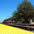 Santa Paula Train Station by Henrik Lehnerer