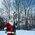 Santa's Checking His List by Loriannah Hespe