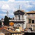 Santi Domenico E Sisto by Fabrizio Troiani