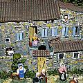 Santons. Provence by Bernard Jaubert
