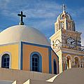 Santorini Church by Brian Jannsen
