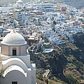 Santorini Greece by Barbara Saccente