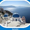 Santorini Greece by John Shiron