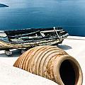 Santorini Still Life by Scott Massey
