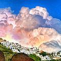 Santorini Sunrise by Dominic Piperata