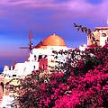 Santorini by Tom Prendergast