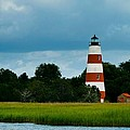 Sapelo Is. Lighthouse by Michael Ray