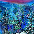 Sapphire Evening by Deborah Montana
