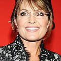 Sarah Palin At Arrivals For Time 100 by Everett