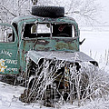 Saranac Cities Service Truck by Randall Nyhof
