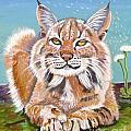 Sassy Lynx by Phyllis Kaltenbach