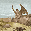 Satan Finding Serpent, By Dore by Photo Researchers