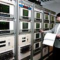 Satellite Control Room by Ria Novosti