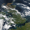 Satellite Image Of Smog Over The United by Stocktrek Images