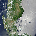 Satellite Image Of The Northern by Stocktrek Images