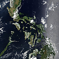 Satellite Image Of The Philippines by Stocktrek Images
