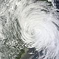 Satellite Image Of Tropical Storm Muifa by Stocktrek Images
