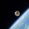 Satellite In Outer Space by Stocktrek Images
