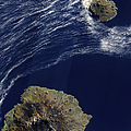 Satellite View Of The Prince Edward by Stocktrek Images