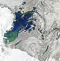 Satellite View Of The Ross Sea by Stocktrek Images
