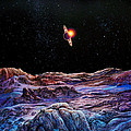 Saturn From Iapetus by Don Dixon