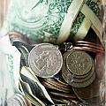 Savings In Jar by Jamie Grill