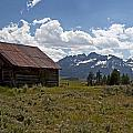 Sawtooth Cabin  by Eric  Nelson