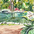 Sayen Pond by Clara Sue Beym
