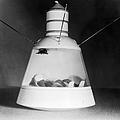 Scale Model Of Mercury Capsule Shape B by Stocktrek Images