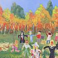 Scarecrow Contest by Robert P Hedden