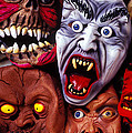 Scary Halloween Masks by Garry Gay