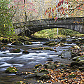 Scenic Bridge Great Smoky Mountains National Park by Pierre Leclerc Photography