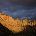 Scenic View Of Zion National Park by John Burcham