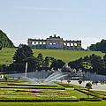 Schonbrunn Palace Gardens  by Jon Berghoff