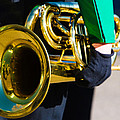 School Band Horn by James BO Insogna