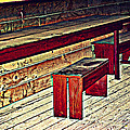 School House Benched And Dusted by Diane montana Jansson