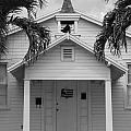 School House In Black And White by Rob Hans