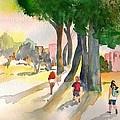 School Kids by Sharon Mick