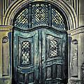 Schoolhouse Entrance by Jutta Maria Pusl