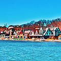 Schuylkill Navy Boat House Row by Bill Cannon