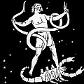 Scorpio And Ophiuchus Constellations by