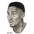 Scottie Pippen by Tamir Barkan
