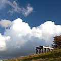Scottish National Monument On Calton Hill by Steven Gray