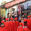 Scouts Parade In Bethlehem At Star Street by Munir Alawi