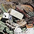 Scrap Metal In Scrap Yard by Jeremy Woodhouse