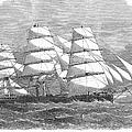 Screw Steamship, 1864 by Granger