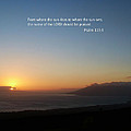 Scripture And Picture Psalm 113 3 by Ken Smith