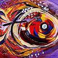 Scripture Fish by J Vincent Scarpace