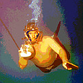 Scuba Diver by Charles Shoup