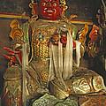 Sculpture Of Wrathful Protective Deity by Gordon Wiltsie